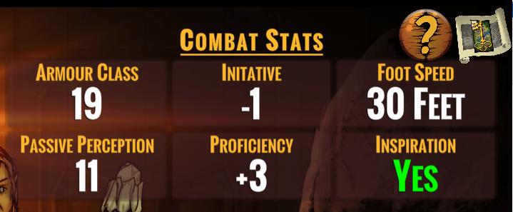 Combat Stats
