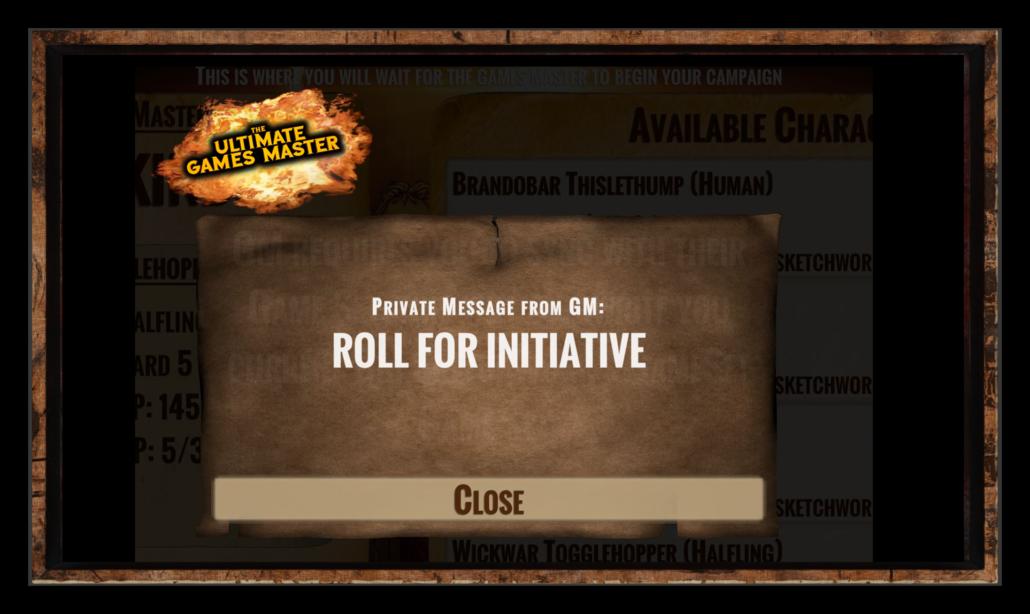Roll For Iniatiative