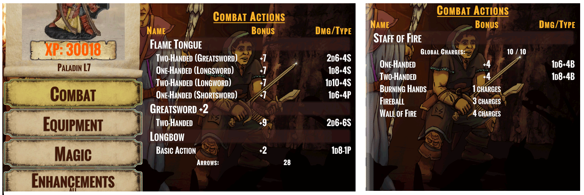 Combat Actions