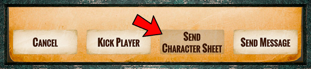 Send a Character to a Player